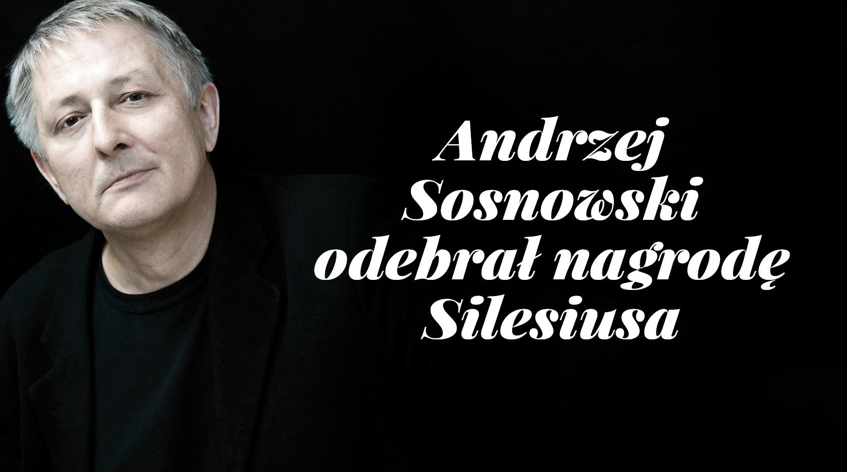 BL Img 2017.05.13 Andrzej Sosnowski odebrał Nagrodę Silesiusa_www_top