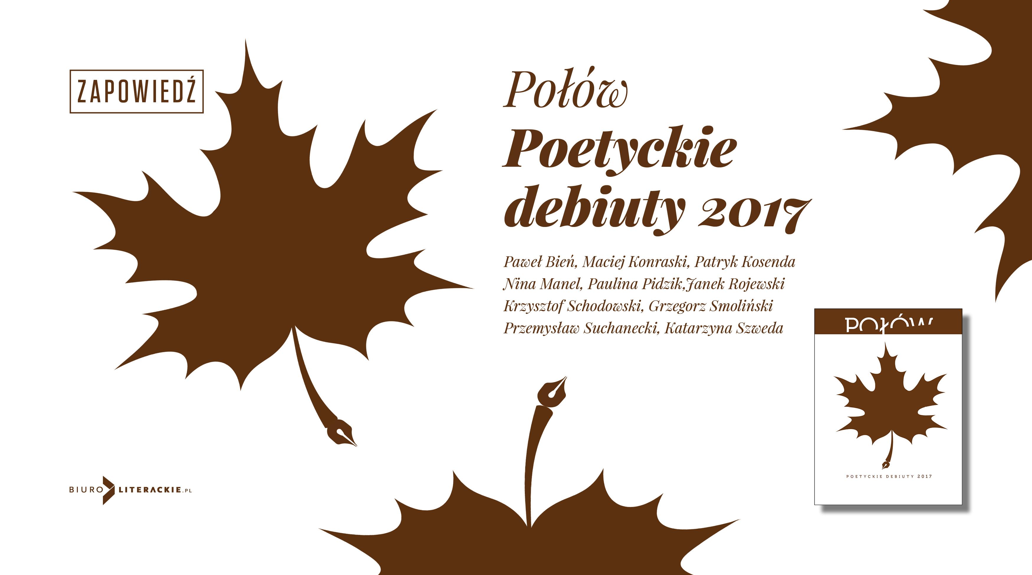 BL Img 2018.01.31 Poetyckie debiuty 2017 w almanachu Biura Literackiego__www_top