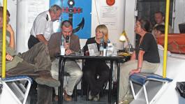 Otwarcie w Porcie Literackim 2008