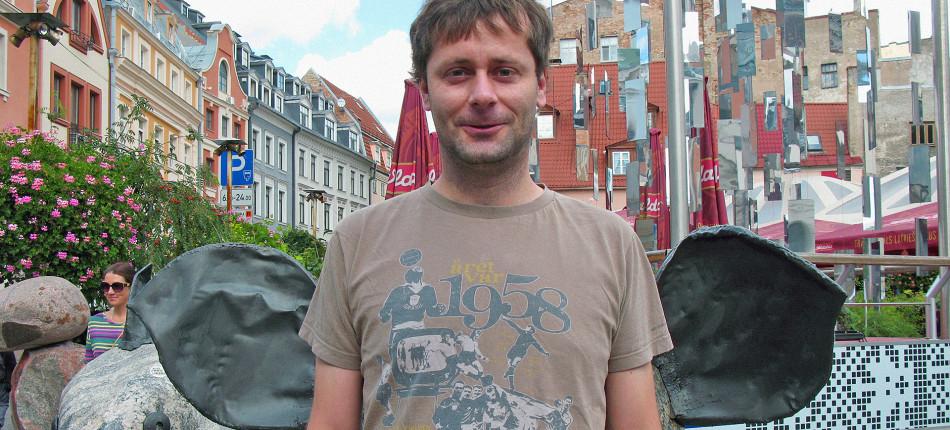 23_ZDJĘCIA__Jacek DEHNEL, Roman HONET, Ryszard KRYNICKI__Port Literacki w Rydze 2014