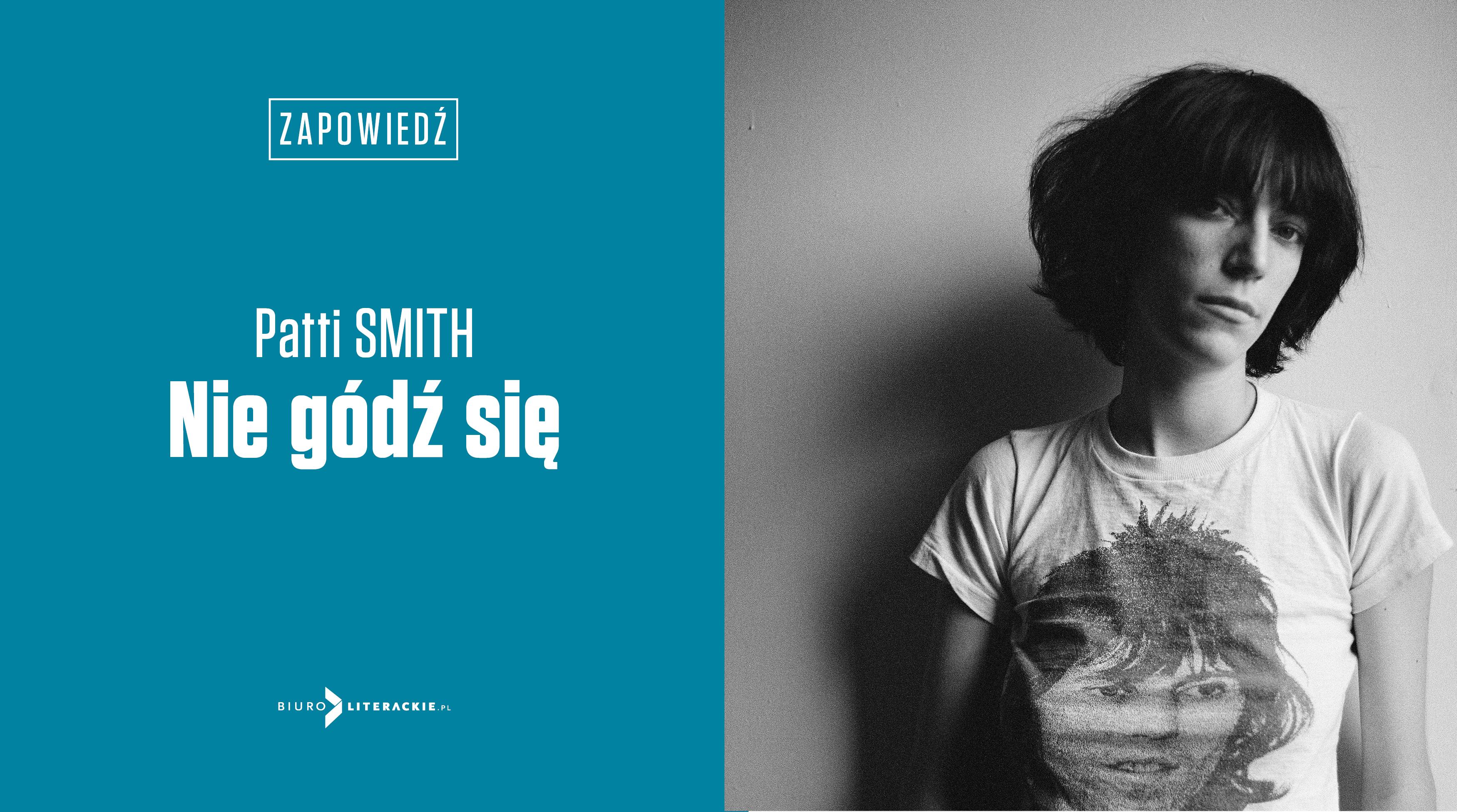 BL Info 2018.12.12 W styczniu Patti Smith w Biurze Literackim__www_top