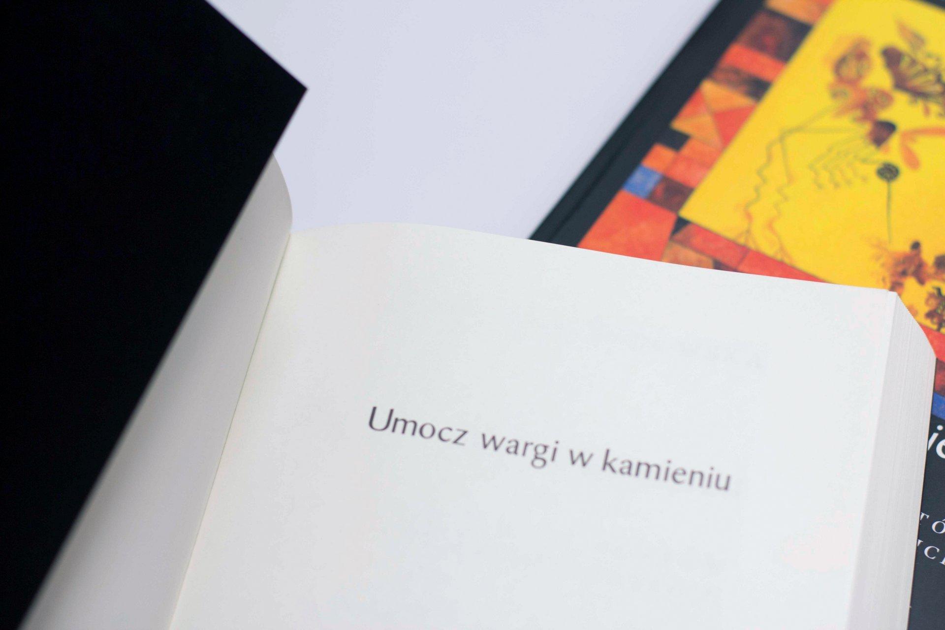 Umocz Wargi W Kamieniu Miękka Oprawa Biuro Literackie