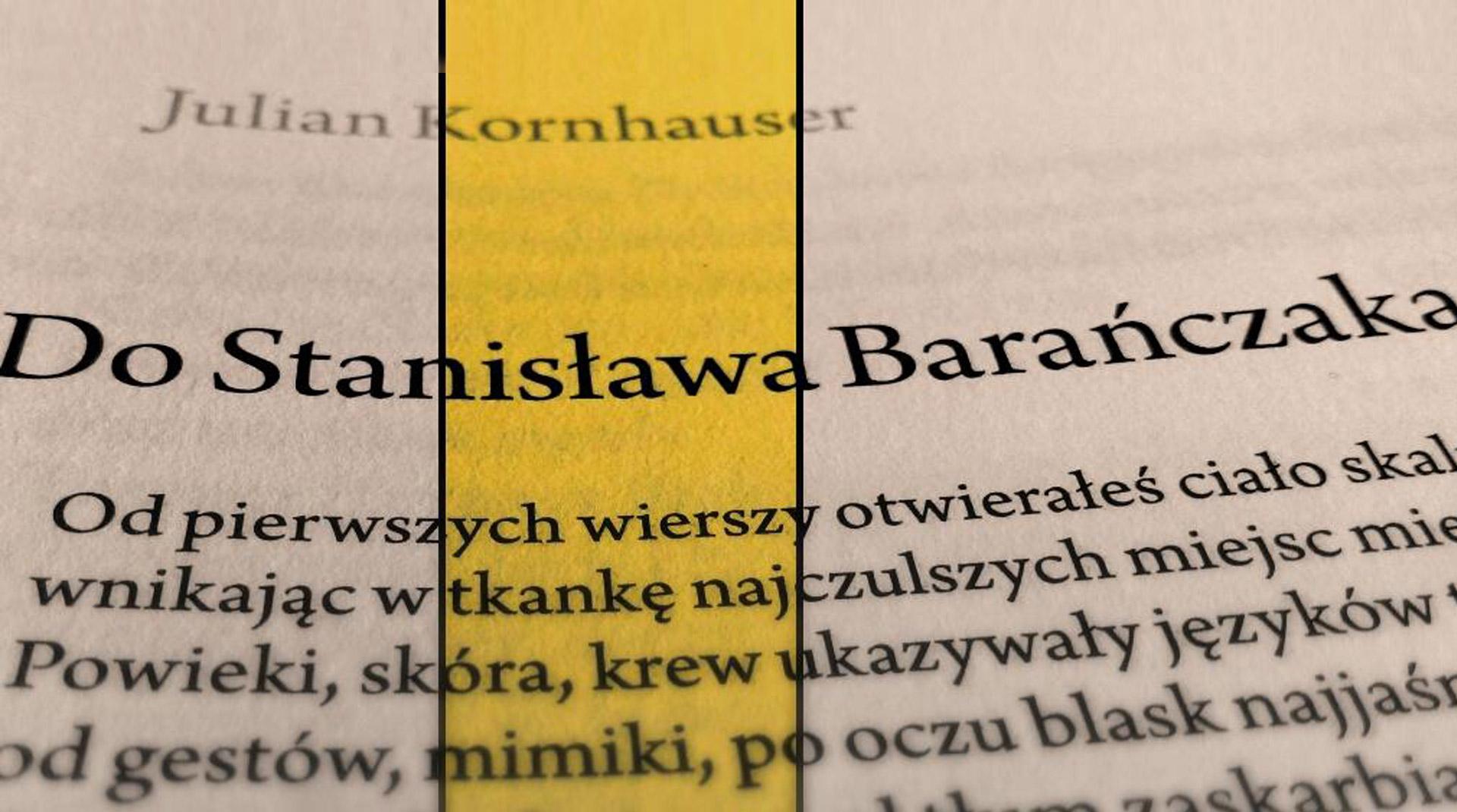 Czytając Kornhausera Biuro Literackie