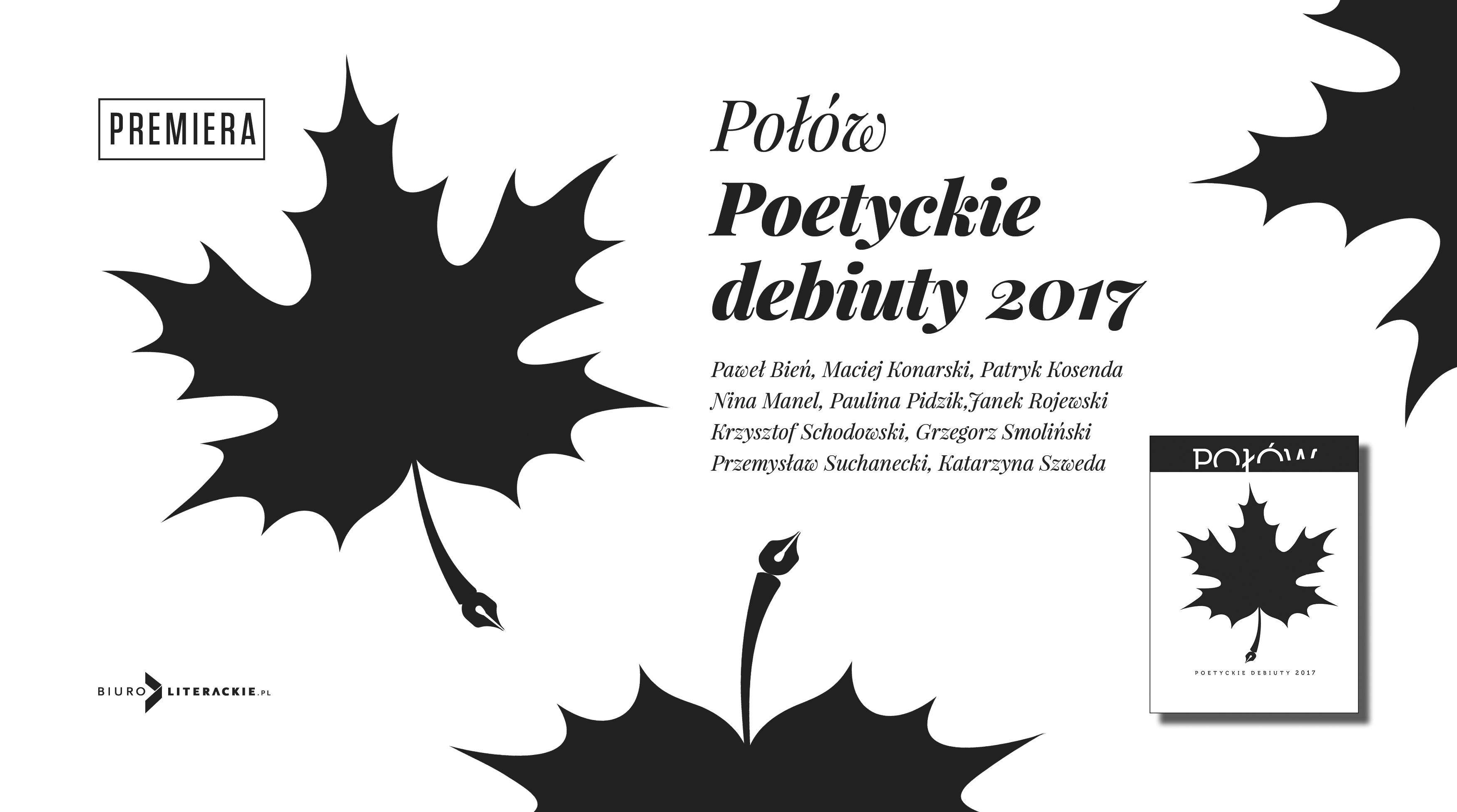 BL Info 2018.08.13 Różni AUTORZY _Połów. Poetyckie debiuty 2017__www_top