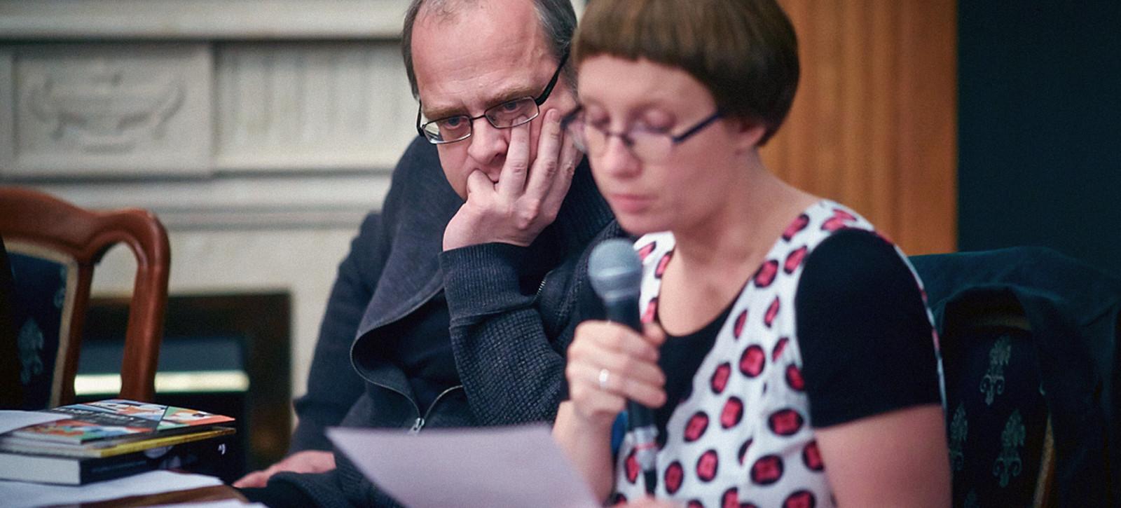23_ZDJĘCIA__Jerzy JARNIEWICZ, Joanna MUELLERA__Ambasadorzy Poezji w Moskwie marzec 2014